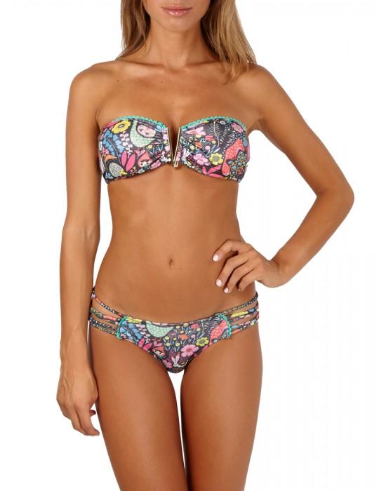 Bikini a Fascia Agogoa Fantasy con centroseno a V