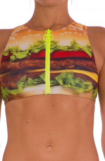 Top Zip Hamburger Agogoa - 1
