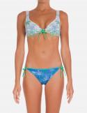 Bikini Brassiere Con Centroseno Timbri
