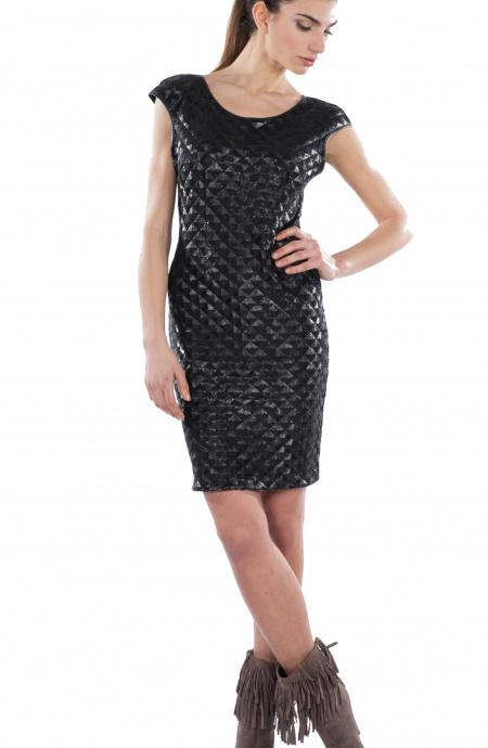 Matelassè Sheat Dress Pin-Up Stars - 1