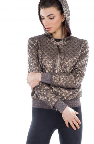 Matelassè Sequin jacket Pin-Up Stars - 1