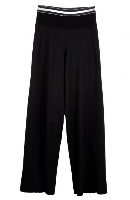 Palazzo Pants with Gym style waistband Pin-Up Stars - 1