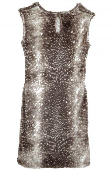 Faux Fur sheat dress Pin-Up Stars - 1