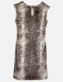 Faux Fur sheat dress