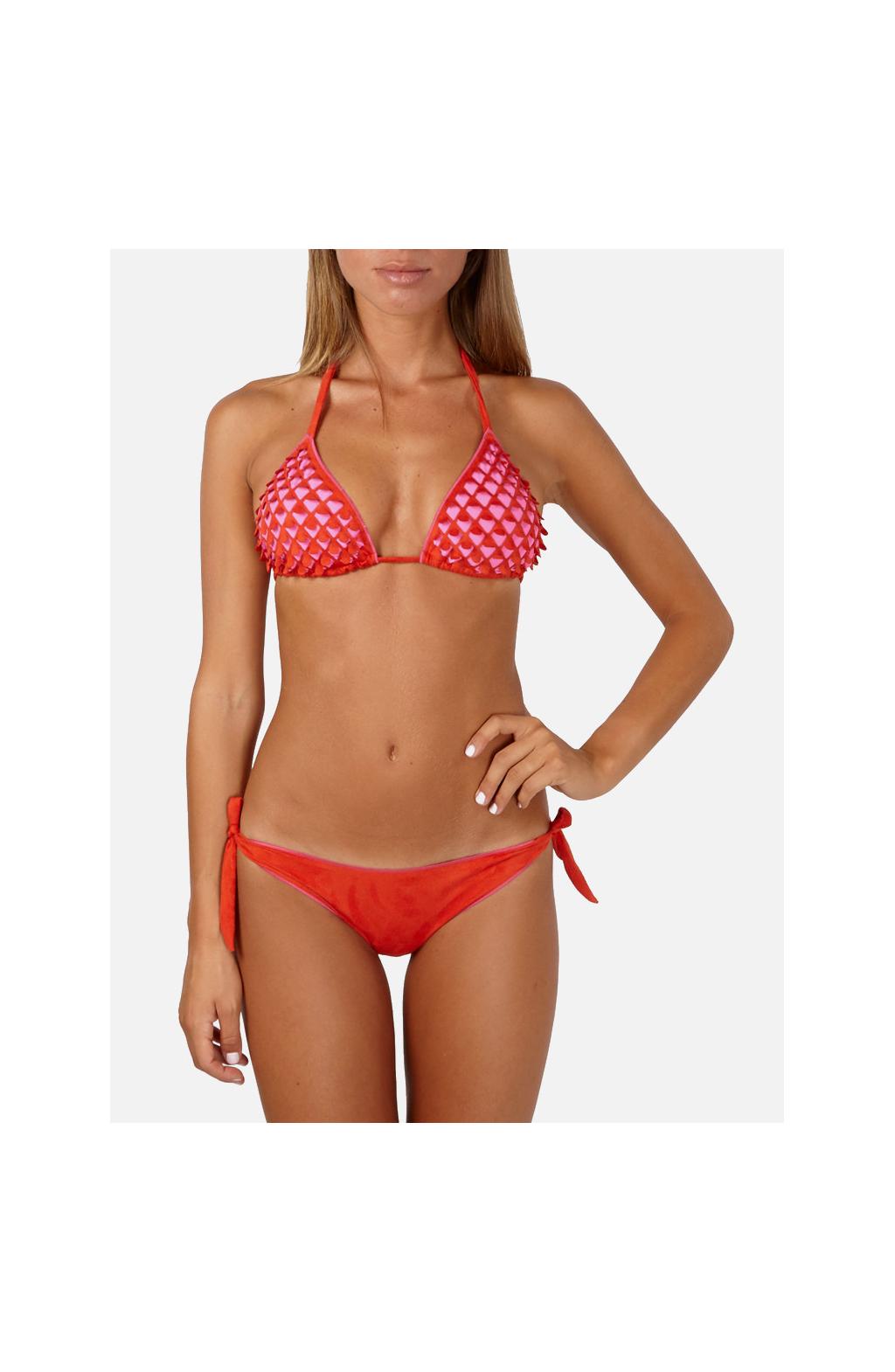 Bikini Triangolo scorrevole suede