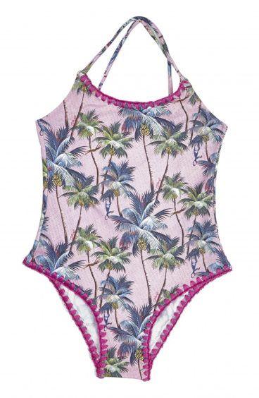 Costume Intero Baby Olimpionico Palm Springs Pin-Up Stars - 1