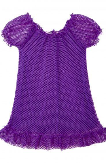 Baby Sevilla Short Dress Net fabric Pin-Up Stars - 1