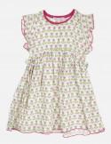 Cotton Gauze Baby Dress Fantasy Mix