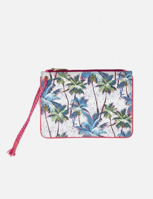 Pochette in canvas stampa Palm Springs