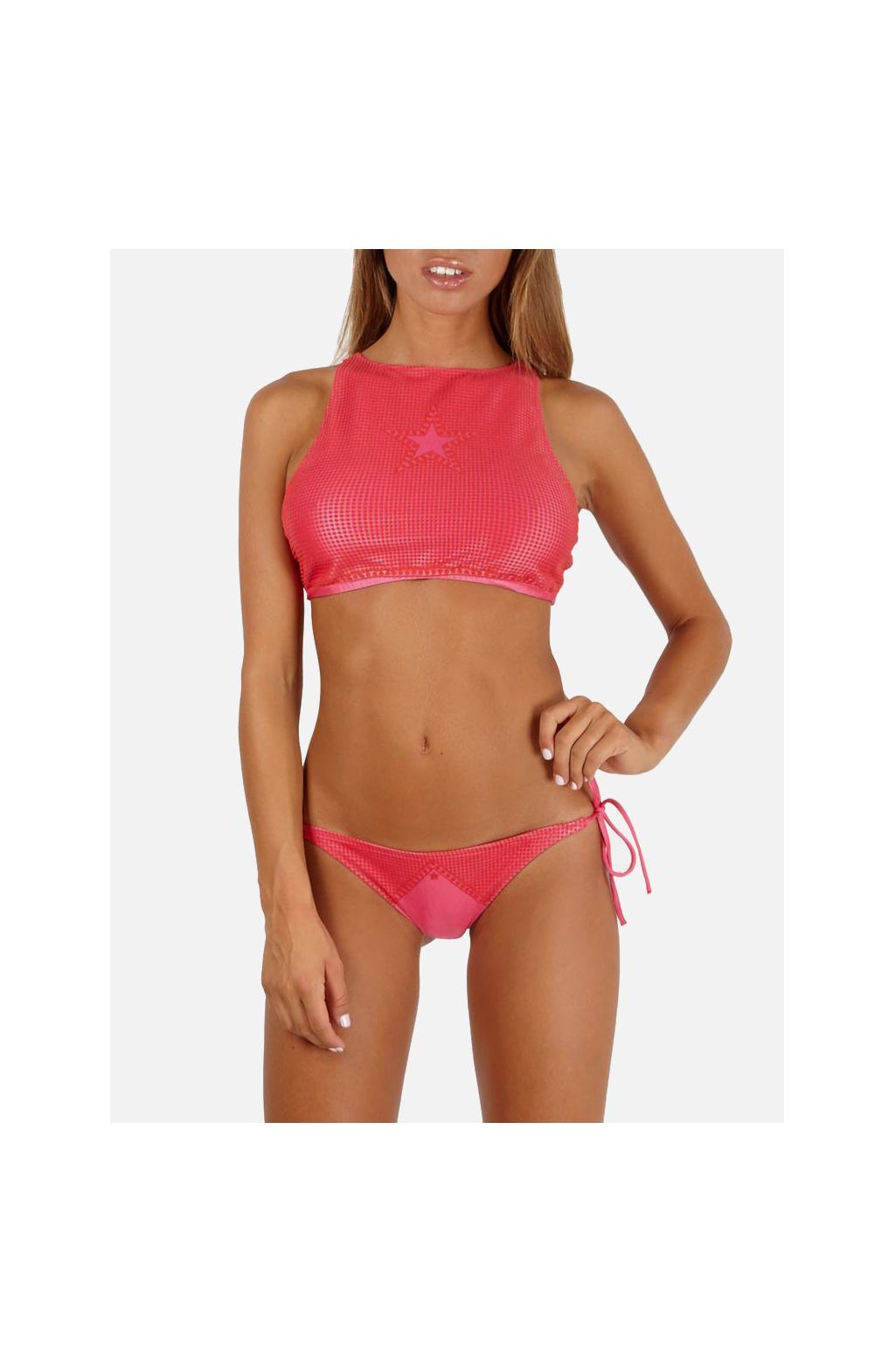 Bikini Crop Top micro pois