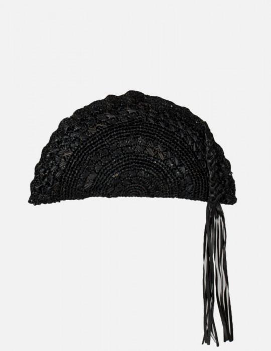 Borsa Ventaglio Crochet di Raffia