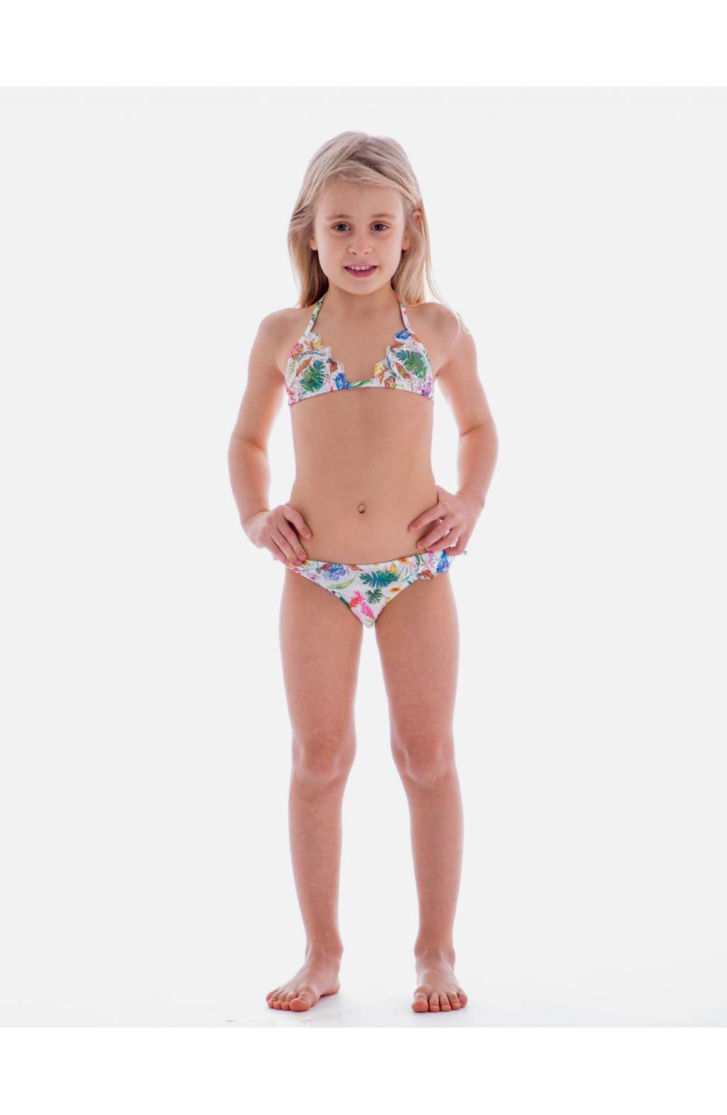 Bikini Triangolo Scorrevole Pizzo Baby