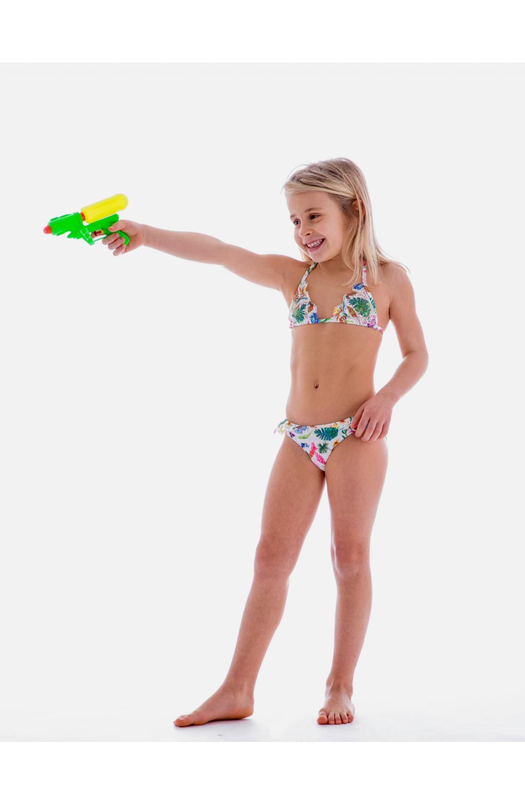 Bikini triangolo scorrevole pizzo baby - Costumi da bagno bambino ...