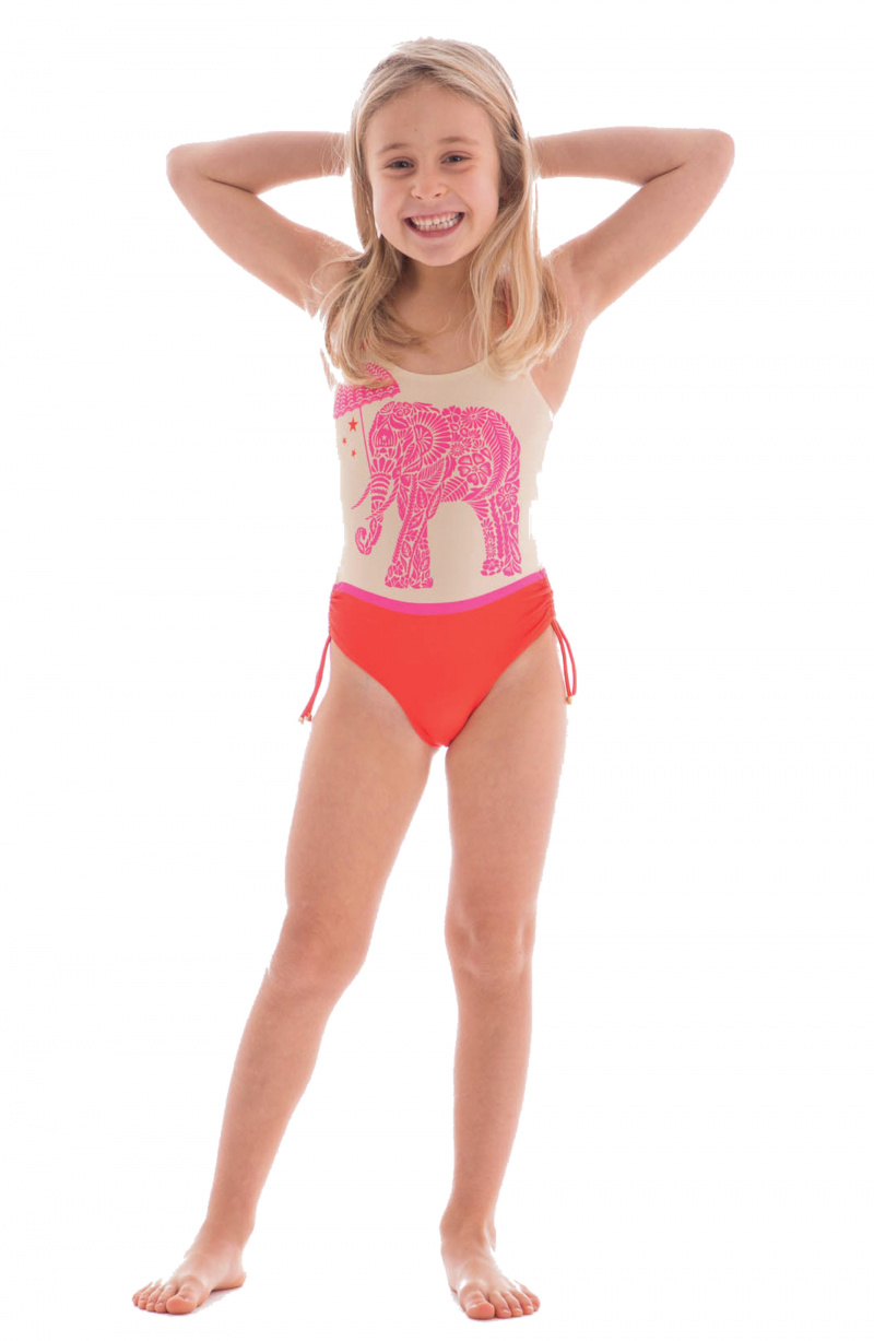 One Piece Swimsuit Elephant Baby