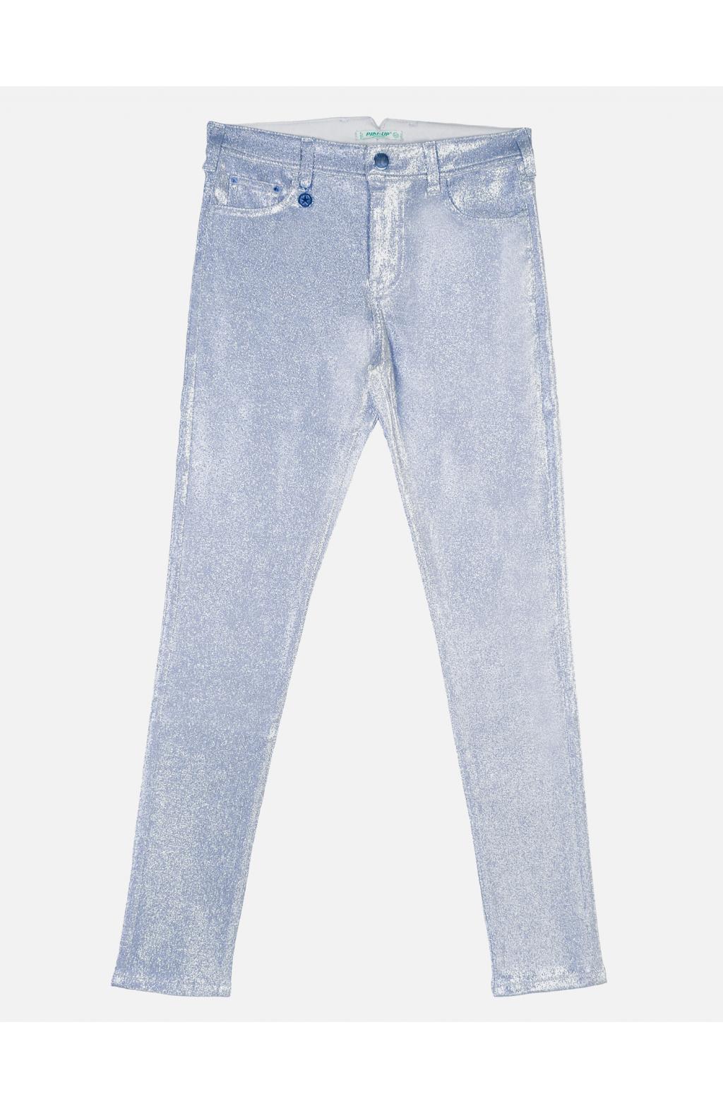 Jeans Canvas Elastico Luminescente filato Lurex