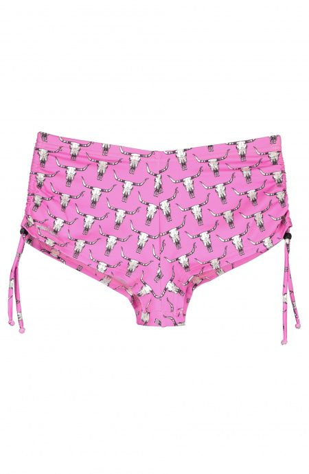 Baby Shorts with side drawstrings Bison Poisson D'Amour - 1