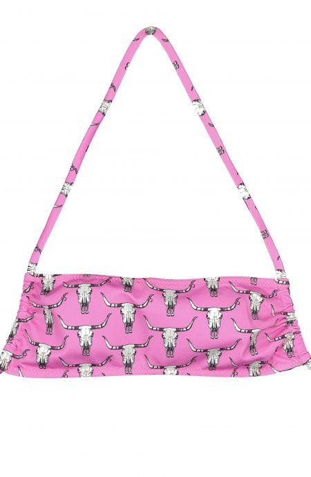 Bikini Top a fascia baby Alabama Bisonti Poisson D'Amour - 2