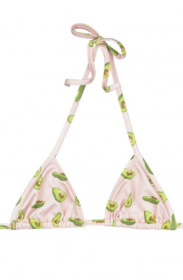 Bikini Top Baby sliding Triangle Avocado Poisson D'Amour - 1