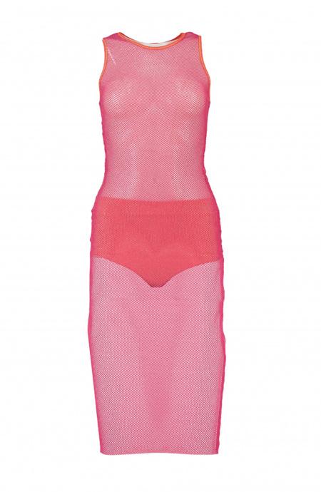 Lurex longuette tubular dress with high waist couture Poisson D'Amour - 5