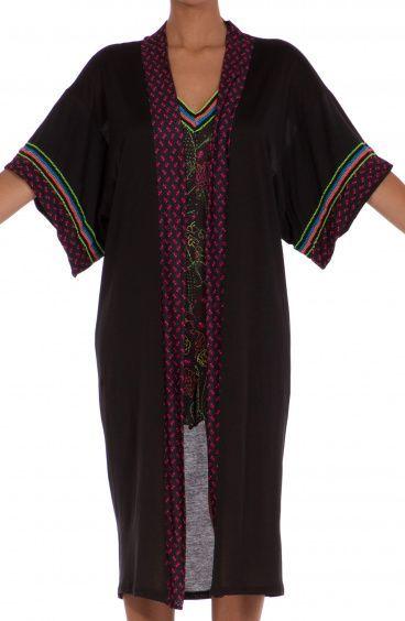 Kimono in Jersey Famous On Line Agogoa - 1