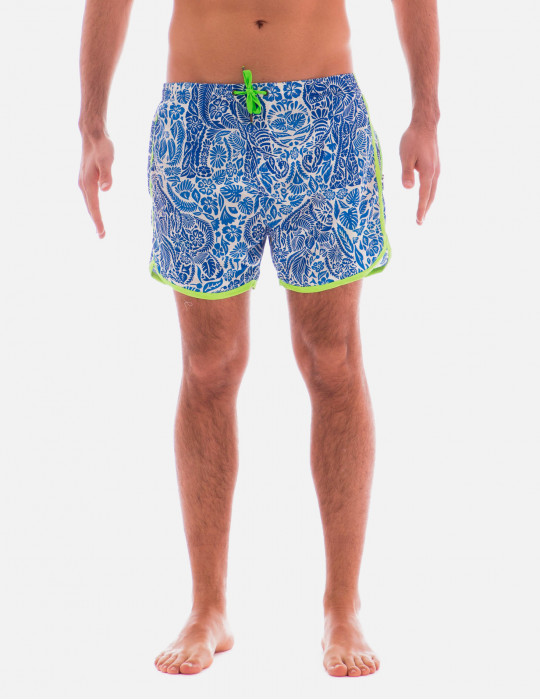 Boxer Sport Uomo Animal Flower