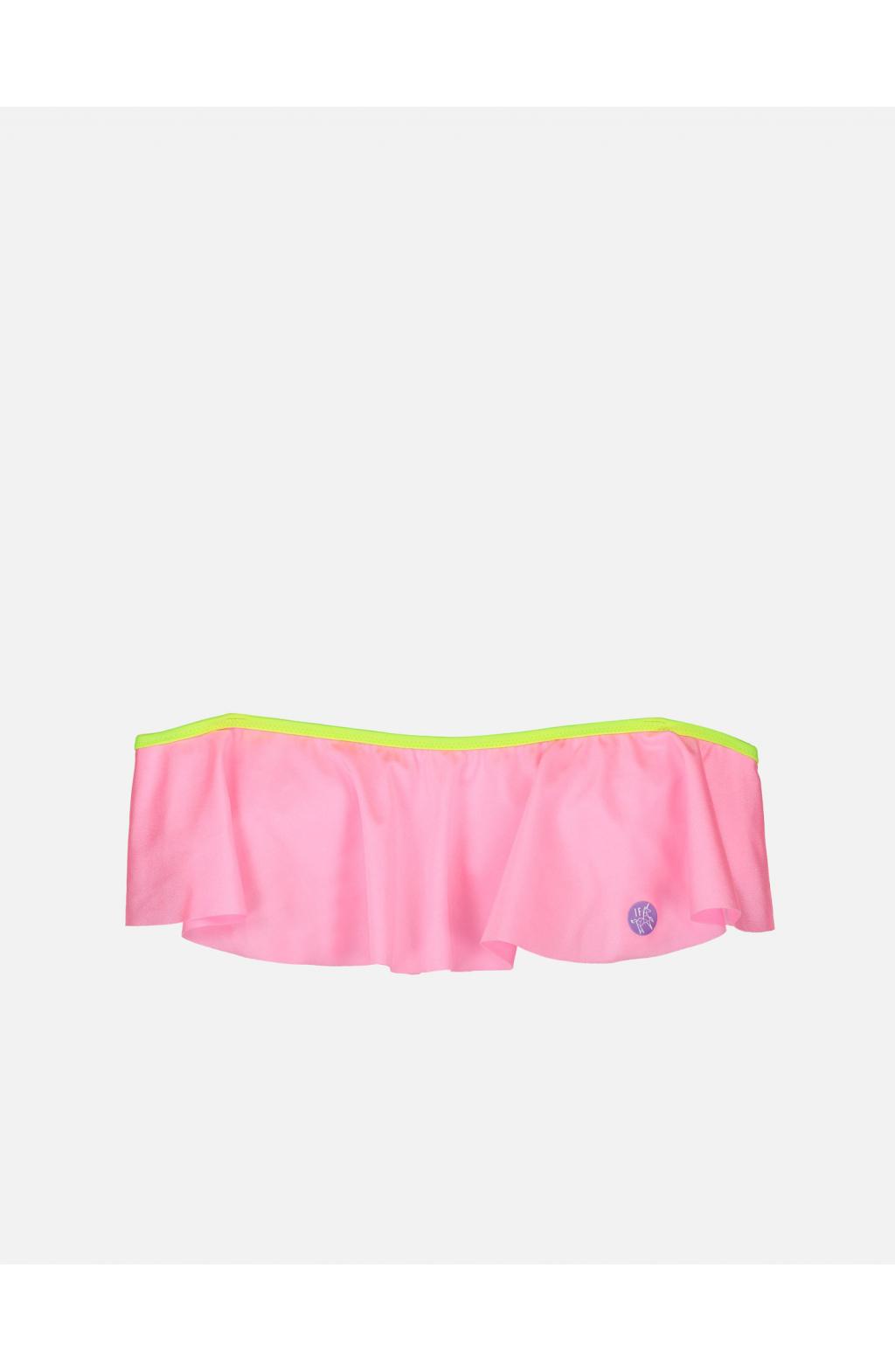 Fascia volant tinta unita rosa