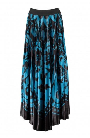 Skirt Chenille Maiolica Pin-Up Stars - 1
