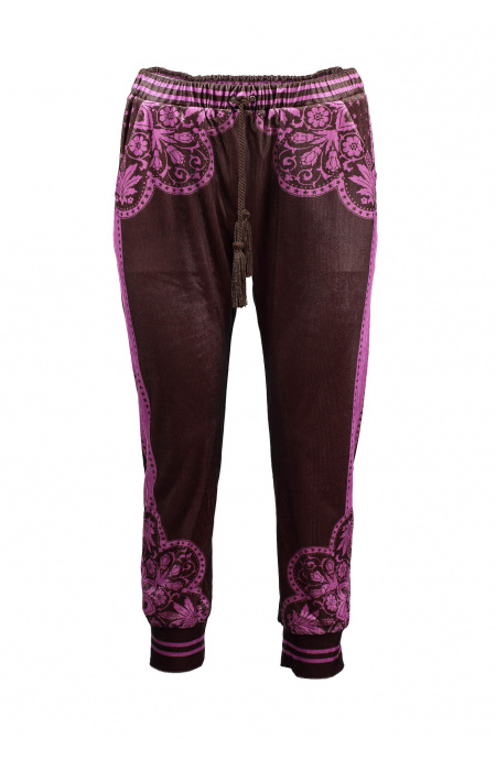 Trousers Chenille Maiolica Pin-Up Stars - 2