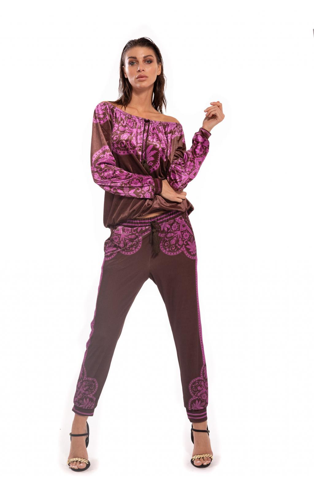 Pantalone Ciniglia Maiolica