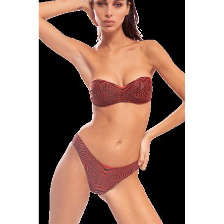 Bikini Fascia Optical Slip Rétro