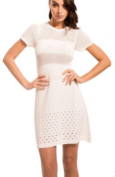 Knitted Mini Dress Pin-Up Stars - 1