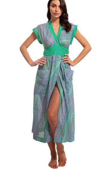 Kimono con Cintura Pin-Up Stars - 1