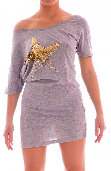 Mini Abito Stella Paillettes Pin-Up Stars - 1