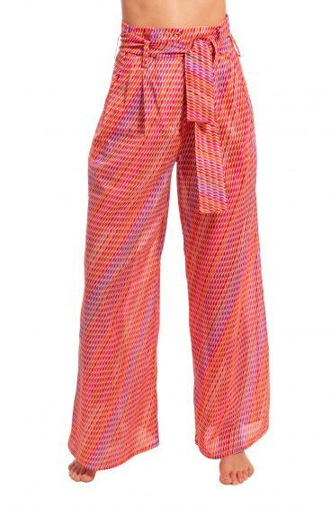 Pantalone a Vita Alta con Cintura Pin-Up Stars - 6