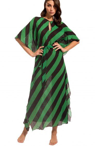 Striped Caftan Agogoa - 1