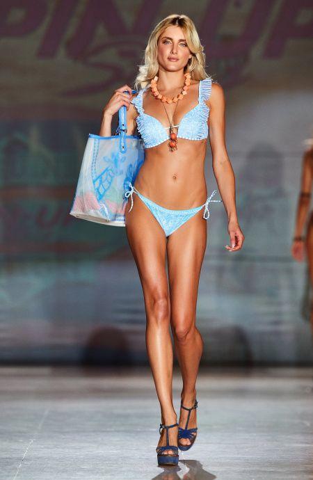Bikini Triangolo Imbottito Push Up Sogno d'Africa Pin-Up Stars - 5