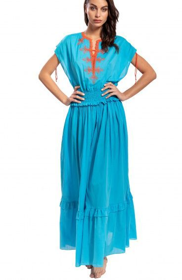 Maxi Abito Arabesque Pin-Up Stars - 5