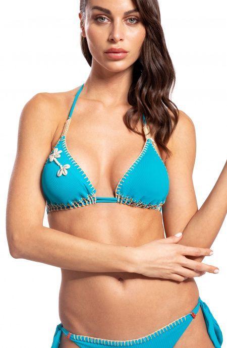 Bikini Triangolo Coquillage Pin-Up Stars - 1