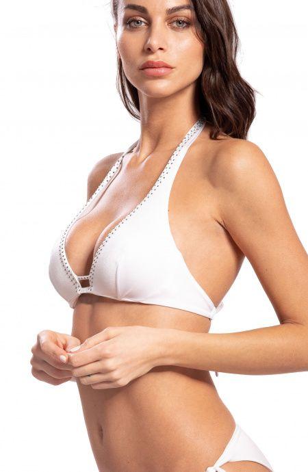 Top Bikini Balconcino con Strass Pin-Up Stars - 8