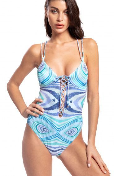 One Piece Swimsuit Optical Pin-Up Stars - 14