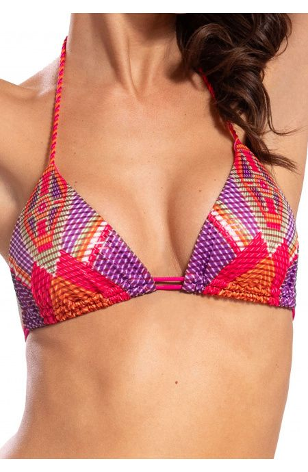 Bikini Triangolo Jais Slip Fiocchi Pin-Up Stars - 12