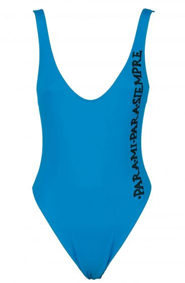 One Piece and One color Olympic Swimsuit Para mi Para Poisson D'Amour - 3