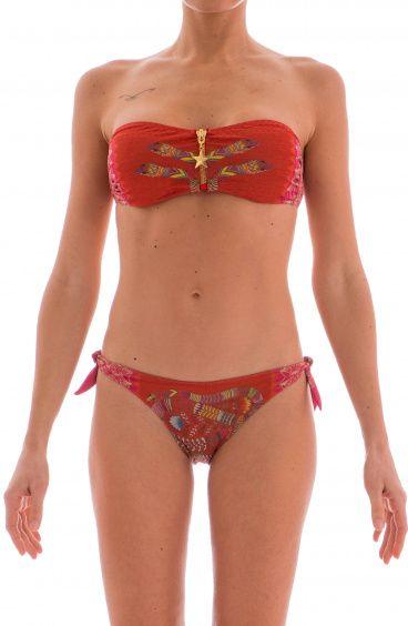 Bikini Fascia Zip Oriental...