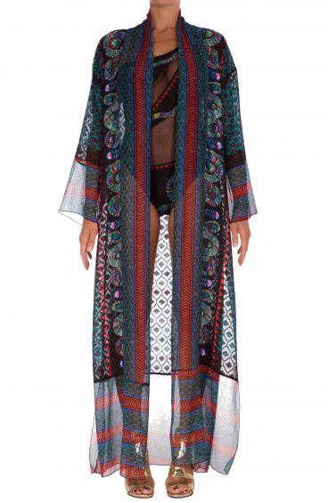 Gown Dress Oriental Snake