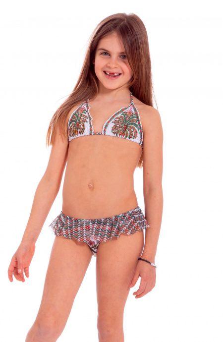 Triangle Bikini Indian Mini Pin-Up Stars - 1