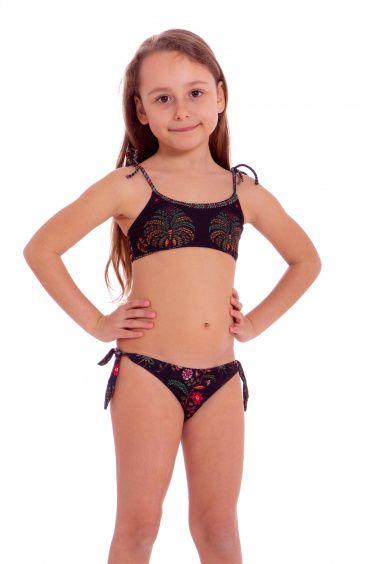 Bandeau Bikini Indian Mini Pin-Up Stars - 1