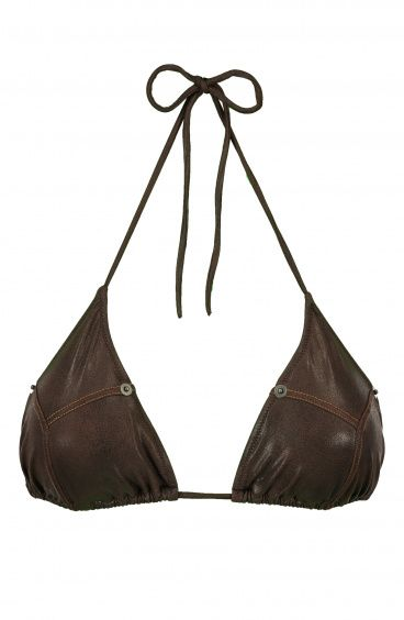 Sliding Triangle Leather Series Poisson D'Amour - 1