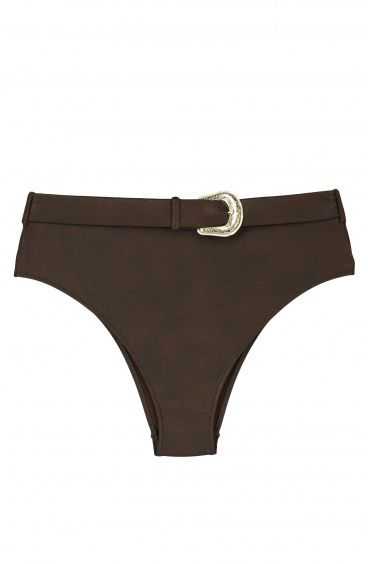 """Crazy Horse"" High Waist Belt Brief Series Leather Poisson D'Amour - 1"