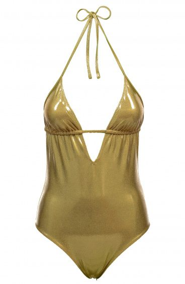 Whole Gold Solid Color Removable Padding Poisson D'Amour - 1