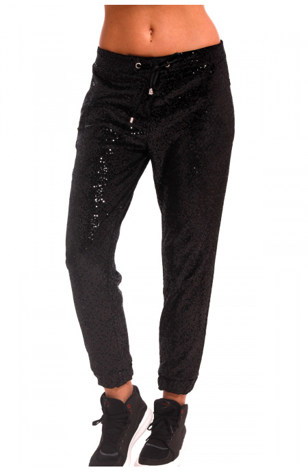 Pantalone In Paillettes Pin-Up Stars - 1